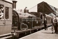 rp16170 - Steam Train in Gosport Station , Hampshire - photograph 6x4