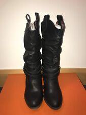 Black Size 5 Rocket Dog Sidestep Boots (Never Worn)
