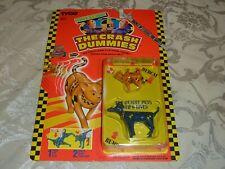 Vintage The Crash Test Dummies Bumper Hubcat Dog MOC Carded Action Figure NIB