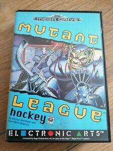❗Sega Mega Drive Spiel Mutant League Hockey❗PAL❗CIB❗ ❗Original❗