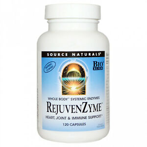 Source Naturals, RejuvenZyme, 120 Capsules