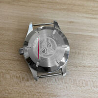For ETA 2824 2836 8215 Mingzhu Movement 40MM Stainless Steel Watch Case Fit