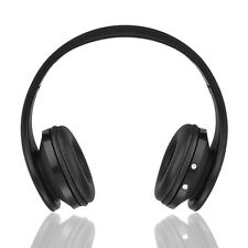 New Wireless STECH/FOLD BLUETOOTH HEADSET (BLACK)