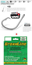 VMC - Perma Steel Circle Hook 3/0 Broxxline Saltwater Vorfachschnur 0 55mm