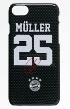 Back Cover FC Bayern München - Müller 25 Autogramm [ iPhone 7 8 ] Handyhülle FCB
