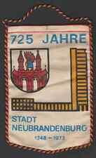 Original Wimpel DDR 725 Jahre Stadt Neubrandenburg 1248 - 1973 !!!!!!!