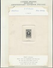 "#Rs92P1 Xf-Superb Large Die Proof On India ""G.G. Green"" (Ex-Joyce) Bq7990"