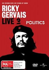 Ricky Gervais - Live 2 : Politics (DVD, 2006) New Sealed PAL