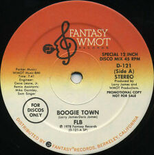 FAT LARRY'S BAND Boogie Town b/w Space Lady (1978 U.S. Promo 12inch)