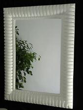 Wandspiegel Weiß Spiegel Groß Modern Flurspiegel 120 x 90cm  Wandspiegel xxl Trm