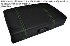 GREEN STITCH FITS TOYOTA MR2 MK1 AW11 84-90 GLOVE BOX LID LTHR COVER GLUE NEEDED