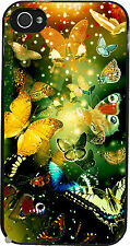 """Cover per iPhone 4, 4S, 5, 5S, 5C, 6  """"Farfalle, Butterfly"""" bellissima"""