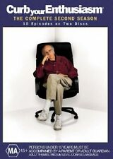 Curb Your Enthusiasm : Complete Second Season (2) (2DVD'S, 2004) NEW & SEALED
