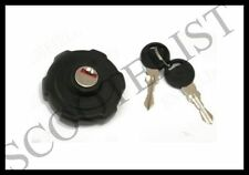 Vespa Fuel Gas Tank Cap Bajaj Classic SL Chetak With Lock New