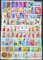 HUNGARY 1965. Complete year unit, 99stamps 7 S/S MNH
