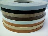 1 Roll Melamine Edge Band / Iron on Edging Tape 21 mm x 50 metres / Pre Glued