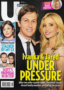 Ivanka Trump Jared Kushner Us Weekly Magazine Beyonce Bethenny Frankel 2017