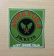 ADESIVO - AVIREX U.S.A. JACKETS - STICKERS COLLECTION