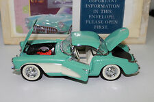 Franklin Mint 1956 Corvette Roadster 1:24 Diecast Car