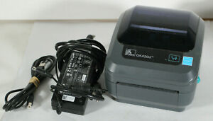 Zebra GK420D Direct Thermal USB Ethernet LAN Label Printer (GK42-202510-000)