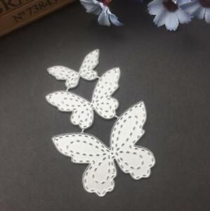 Butterfly Metal Cutting Dies Stencil Scrapbooking Embossing Decorative Crafts