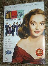 All About Eve (Dvd, 2008, 2-Disc Set,Bette Davis Centenary Collection)New,Sealed