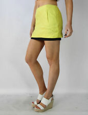 Above Knee A-Line Dry-clean Only Solid Skirts for Women