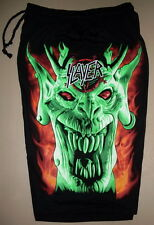 Slayer Thrash Metal Band Root Of All Evil Cotton Shorts Sweatpants Free Size New