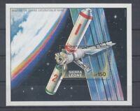 Astronautique - Espace Sierra Leone Bloc 121 (MNH)