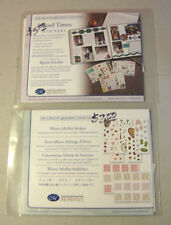 CREATIVE MEMORIES 2 STICKER LOT WINTER MEDLEY STICKERS & SCHOOL TOMES STICKERS