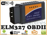 ELM327 OBDII OBD2 WiFi Car Engine Diagnostic Code Reader Scan iPhone ANDROID