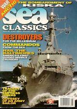 SEA CLASSICS V31 N8 WW2 USN BALTIMORE-CLASS HEAVY CRUISERS / AUSTRALIAN COMMANDO