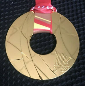 Goldmedaille Olympia Olympische Spiele Turin Torino 2006 Olympia Medaille