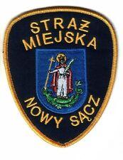 PATCH POLAND POLICE (STRAZ MIEJSKA) - NOWY SACZ - ORIGINAL!