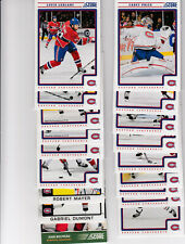 12/13 Score Montreal Canadiens Team Set w/ RCs and Insert - Price Beliveau +