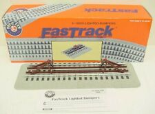 Lionel 6-12035 FasTrack Lighted Bumpers (Pack of 2)