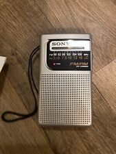 SONY FM/AM ICF-S10MK2 portable antenna radio - Tested, Works GREAT