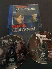 Resident Evil CV Sega Dreamcast