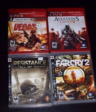 Six (6) PS3 Games Bundle Dead Space, FarCry2, GranTurismo6, Rainbow6 Vegas2 ...