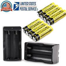 Garberiel 18650 3.7V Li-ion Battery Rechargeable Batteries For led Flashlight US