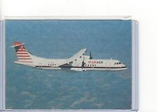 Kar Air Finland airlines issued ATR 72  cont/l  postcard
