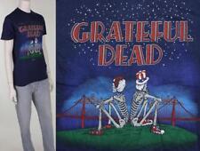 80s Vintage Grateful Dead Bridge Skeletons Concert Rock Tour Tee T Shirt XS