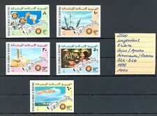 MAURITANIA 1975 5 x ST. IMPERFORATED -** MNH VF =SPACE SOJUS APOLLO =