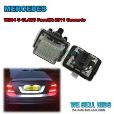 Mercedes Benz W204 LED License Number Plate Light Bulbs Lamps Facelift 18 LED