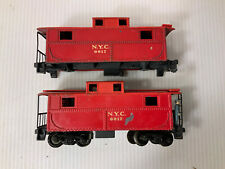 A123- 2 OOScale Lionel 0017 NYC cabooses