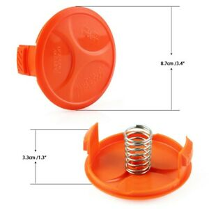 2 Pack For BLACK + DECKER Spool Cover For Grass Trimmer 385022-03 Accessories