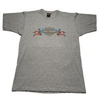 Vintage 90's Harley Davidson Men's Size Large Single Stitch T Shirt Bartels CA