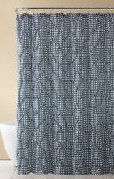 Shimmering Textured Jacquard Gold NWOP Iris Luxury Fabric Shower Curtain