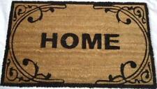 Home Natural Doormat Front Door Welcome Mat Coconut Fibre Rubber Home 60x40cm