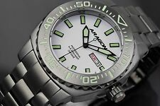 Aragon Parma A155WHT IP Gray Automatic Super Luminova Dial